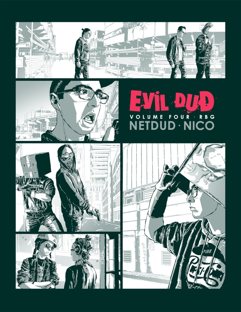 Evil Dud - Volume 4 Cover -260K